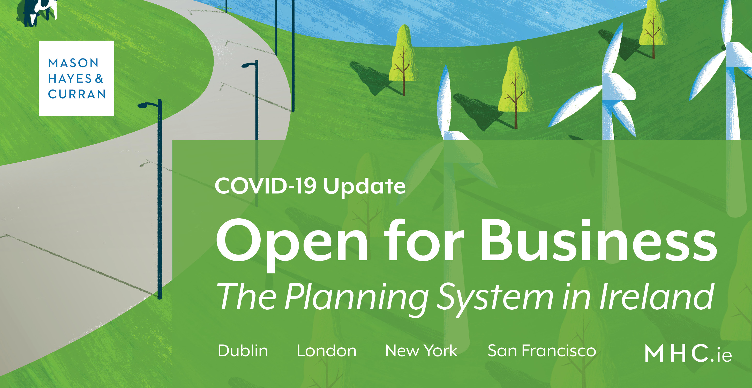 Covid 19 Open For Business The Planning System In Ireland Mason Hayes Curran