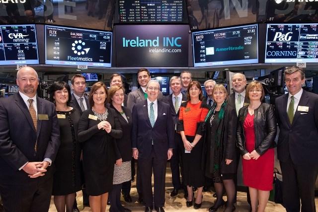 Ireland Day NYSE 2015